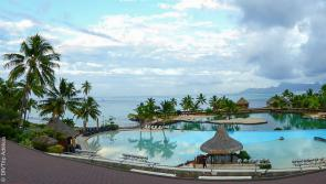 magnifique hotel pendant mon trip plongée en Polynésie