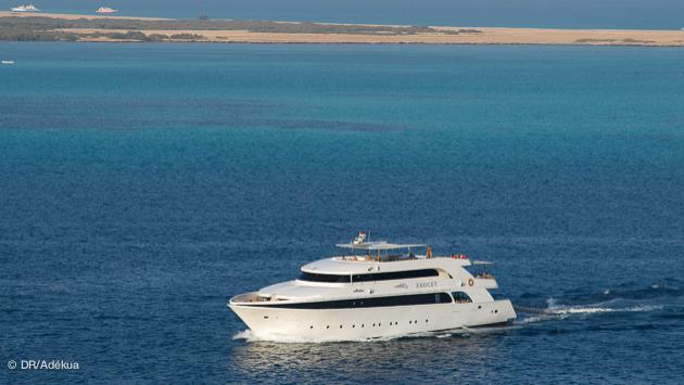 votre bateau luxe pour une croisière plongée en Egypte