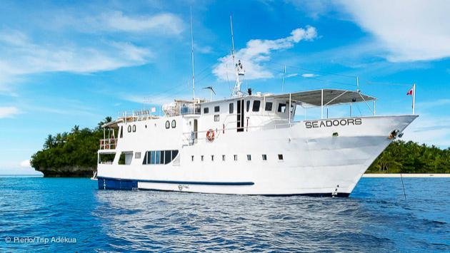 votre bateau haut de gamme pour votre croisière plongée aux Philippines
