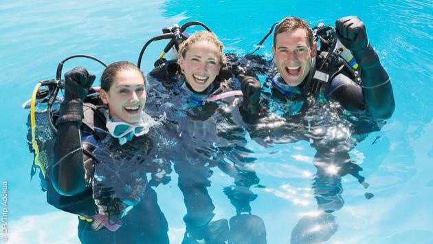 Formation plongée en fosse, pour obtenir le Rescue Diver PADI