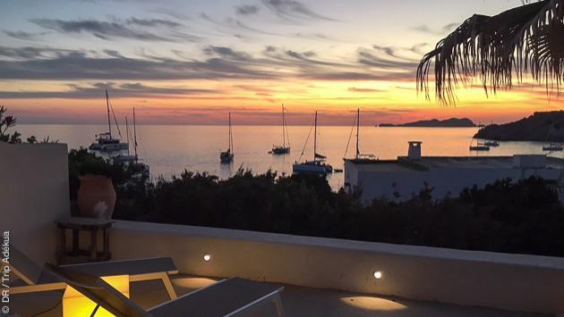 très belle villa avec vue sur la mer à Ibiza