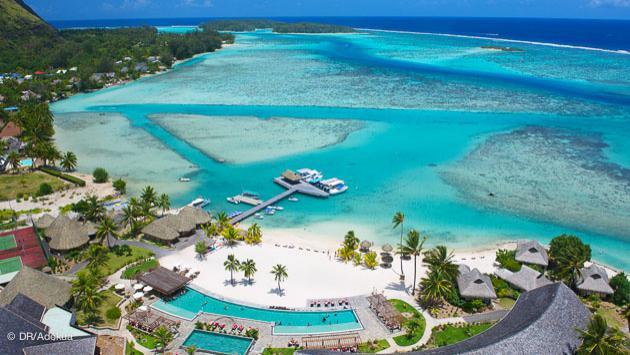 des hôtels de rêve pour votre voyage plongée à Tahiti et les îles de Moorea, Rangiroa, Fakarava